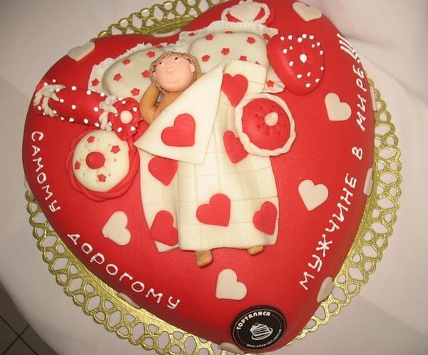 Торт для любимого с фото
